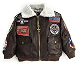 Up and Away Boys' A-2 Bomber Jacket