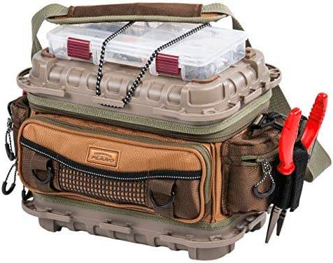 Plano Guide Series 3500 size bag – includes five 3500 s, Tan Brown