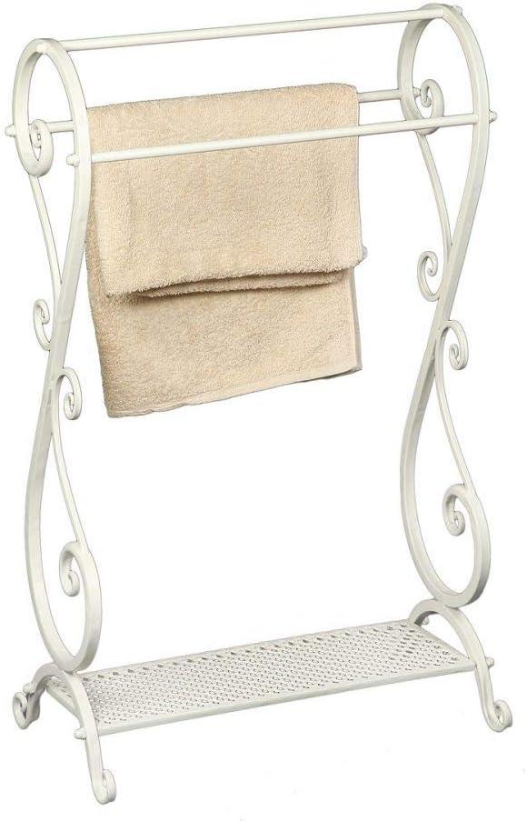 Vintage Home Französischer Wäscheständer Handtuchhalter Handtuchständer Antik Shabby Eisen