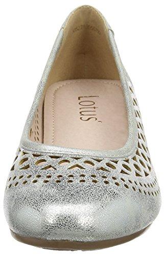 Lotus Toff - Tacones Mujer Silver (silver Metallic)