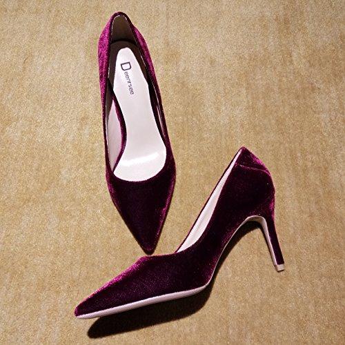 Tac Zapatos Qiqi de Zapatos la Corte Xue de zTq0wFxP
