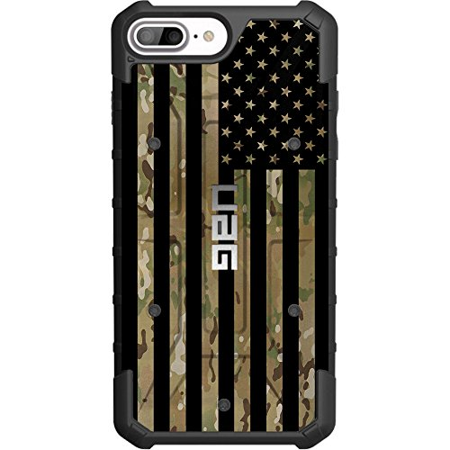 Cell 6 Scorpion - Limited Edition- Customized Designs by Ego Tactical Over a UAG- Urban Armor Gear Case for Apple iPhone 8 Plus/7 PLUS/6s Plus/ 6 Plus (Larger 5.5