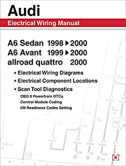 51UR8qay4OL._SX258_BO1204203200_ audi a6 electrical wiring manual a6 sedan 1998, 1999, 2000 a6 audi a6 c5 wireing diagram at honlapkeszites.co