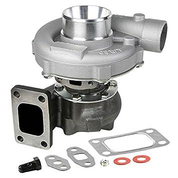 xs-power t04e T3/T4 .63 a/R 57 Trim Turbo/turbocompresor Compresor 400 + HP Boost fase III: Amazon.es: Coche y moto