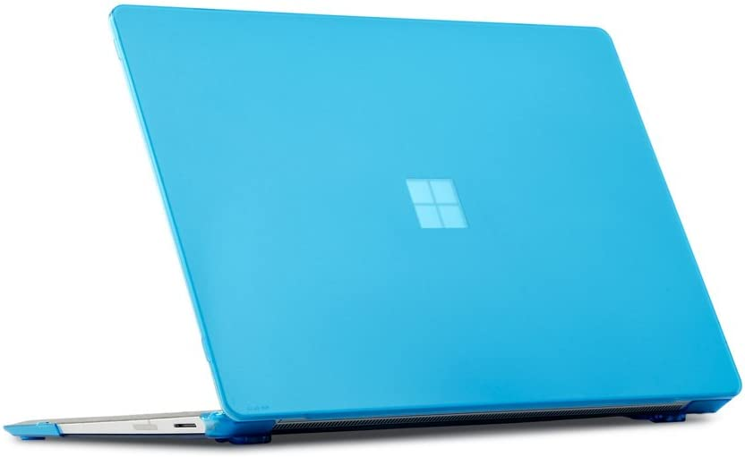 mCover Hard Shell Case for 2019 15-inch Microsoft Surface Laptop 3 Computer (Released After Oct. 2019) - MS-SFL3-15 Aqua