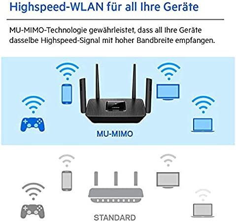 Linksys Mr9000 Tri Band Mesh Wifi 5 Router Computers Accessories