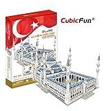 CubicFun 321 Piece 3D Puzzle: Sultan Ahmet Camii Blue Mosque