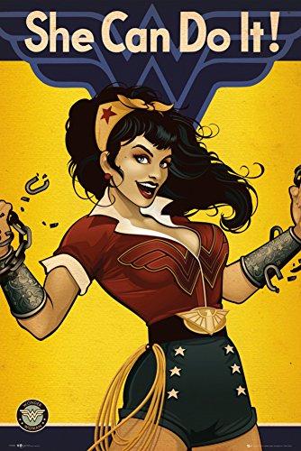 Dc Comics Bombshells Wonder Woman Poster 24 x 36in