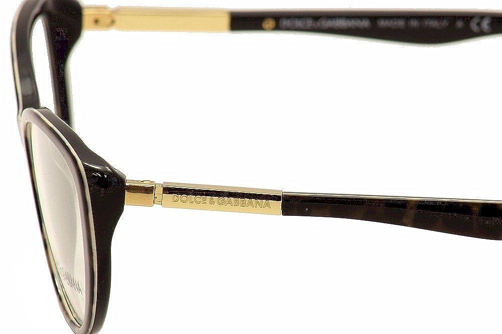 Amazon.com: Dolce & Gabbana DG3155 Eyeglasses-1995 Animalier ...