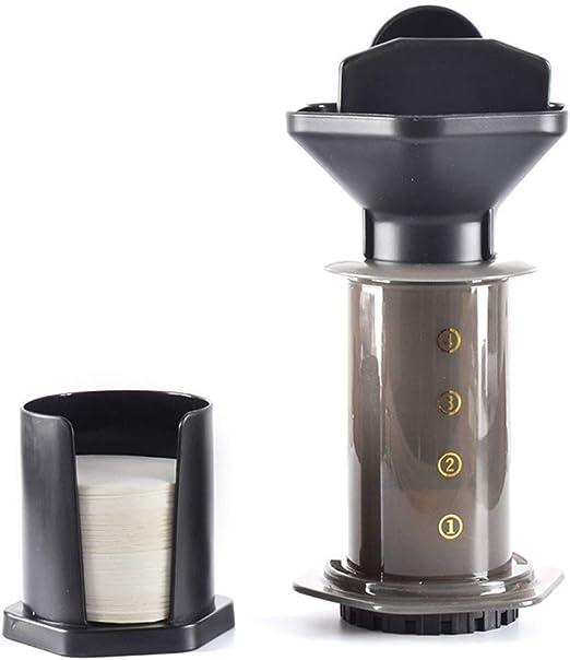 SUHUIHUANG Filtro de presión de Mano portátil de 240 ml cafetera francesafiltro de Goteo de presión Manual máquina: Amazon.es: Hogar
