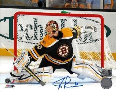 Autographed Tuukka Rask Photo - 8x10 - Autographed NHL Photos