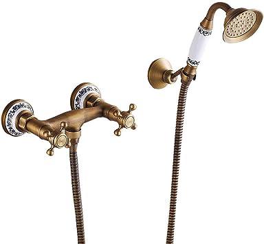 KaO0YaN-Shower Ducha Simple Antigua Ducha De Mano Cobreado ...