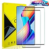 Pazon Galaxy Note 10 Plus Screen Protector Glass [2 Pack], Full Coverage HD Tempered Glass Anti-Scratch Bubble-Free Screen Protector for Samsung Galaxy Note 10 Plus