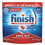 Finish - Max in 1 - 82ct - Dishwasher Detergent - Powerball - Dishwashing Tablets - Dish Tabs
