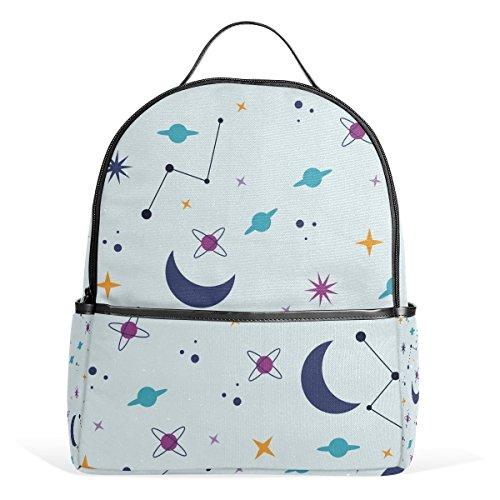 backpack space moon schoolbag 1