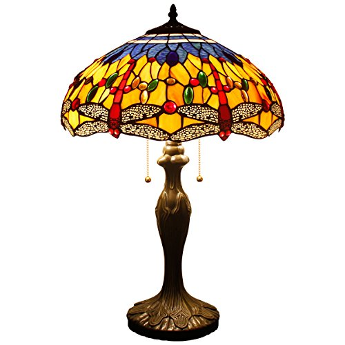 Tiffany Table Lamp Dragonfly WERFACTORY product image
