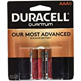 Duracell Quantum Alkaline AAA Batteries, 6-Count, 2 Pack