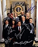 #3: The West Wing TV Series Cast Signed Autographed 8 X 10 Reprint Photo - Mint Condition