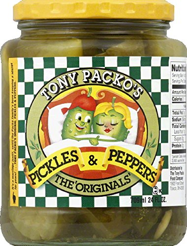 Price comparison product image Tony Packo Pickles & Peppers Original - 24 oz (4 pack)