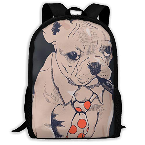 french bulldog messenger bag - 5