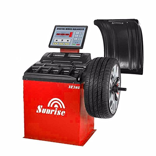 SR308 Wheel Balancer Tire Balancers Machine Rim Car Heavy Duty / 12 Month - Tire Wheel Balancer