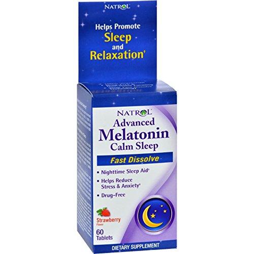 Advanced Sleep Melatonin Plus Natrol