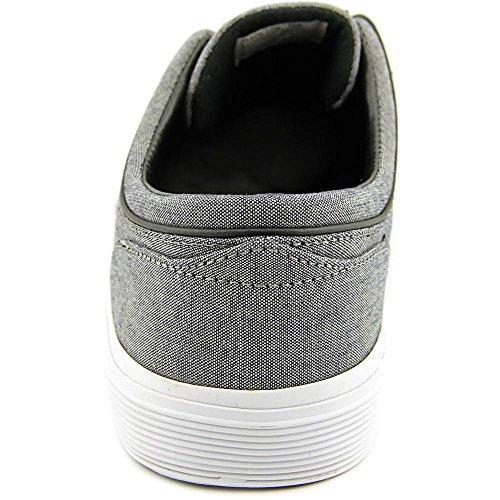 Polo Ralph Lauren Heren Faxon Lage Sneaker Grijs / Zuiver Zwart Chambray