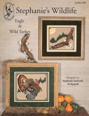 Pegasus Originals Eagle and Turkey Counted Cross Stitch Leaflet