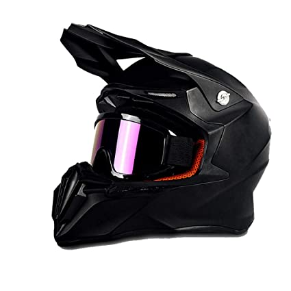 Amazon.es: Casco de Moto Todo Terreno para Adolescentes Casco de ...