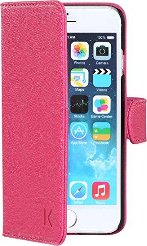 The Kase 18137159–Carcasa Tapa para iPhone 6/6S con espejo y funda CB Rose