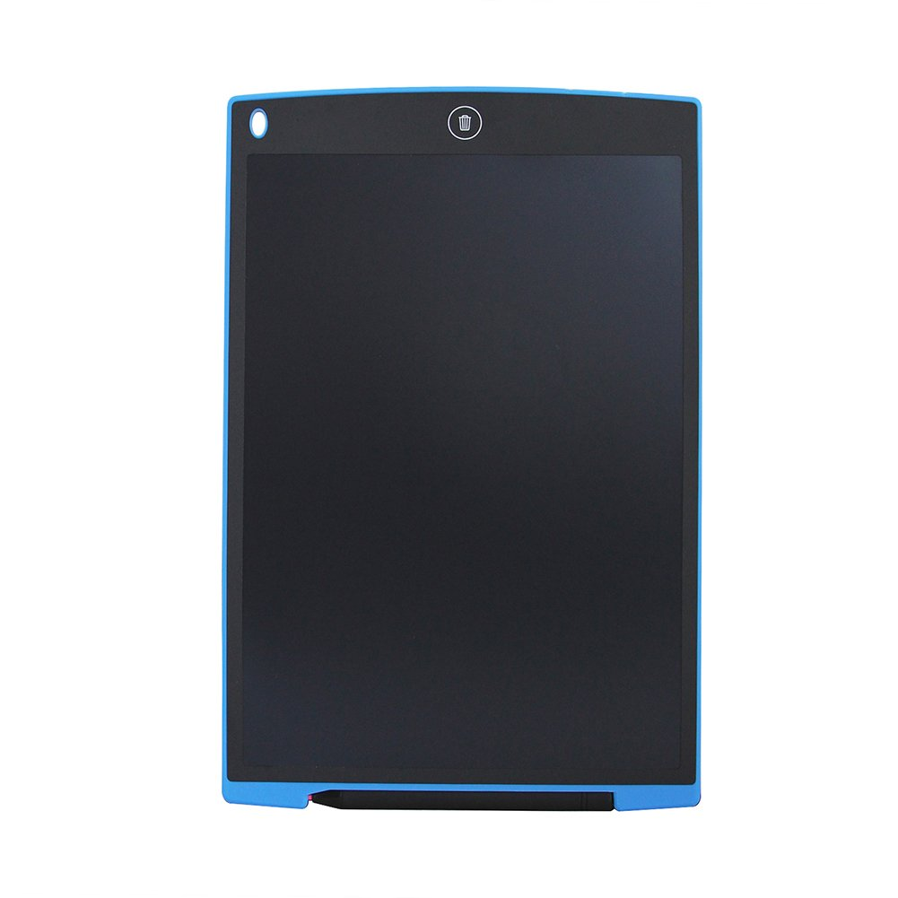 VANPOWER 12-Inch LCD Writing Tablet Drawing Board for Kids Adult Businessman-Used as Office Whiteboard Notice Board Chalkboard (Blue)