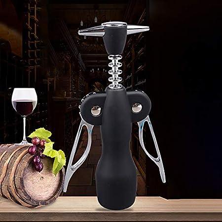 Sacacorchos Abridor De Vino Tinto Portátil De Aleación De Zinc Caliente Tipo De Ala Sommeliers De Metal Sacacorchos De Vino Abridores De Botellas Sacacorchos Removedor De Corcho De Vino