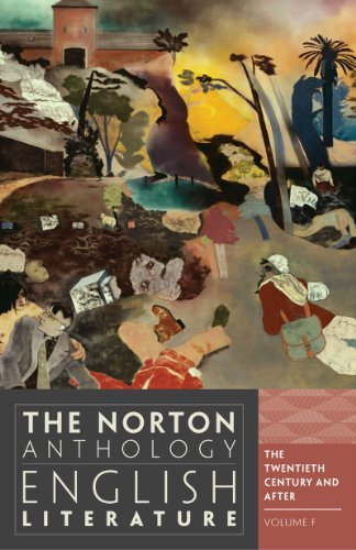 By Stephen Greenblatt - The Norton Anthology of English Literature: 20th Century and After v. F 20C (9th Revised edition) (3.4.2012)