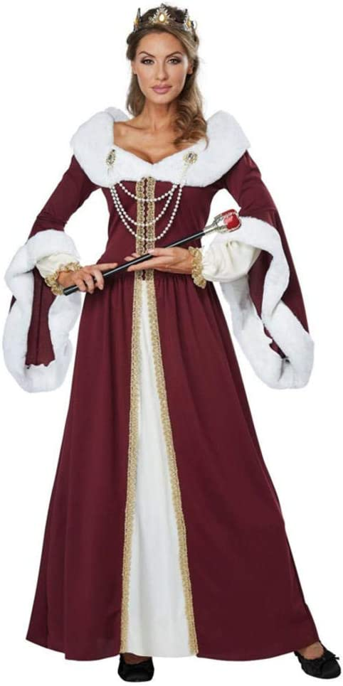hengGuKeJiYo Disfraces de Pareja Retro Real de Halloween Corte ...