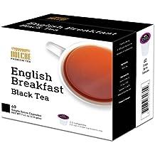 Dolche Tea K Cup 60 Count 2.0 Compatible (English Breakfast Black Tea)