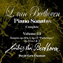 Beethoven Sonatas VOL.3 (the CD)