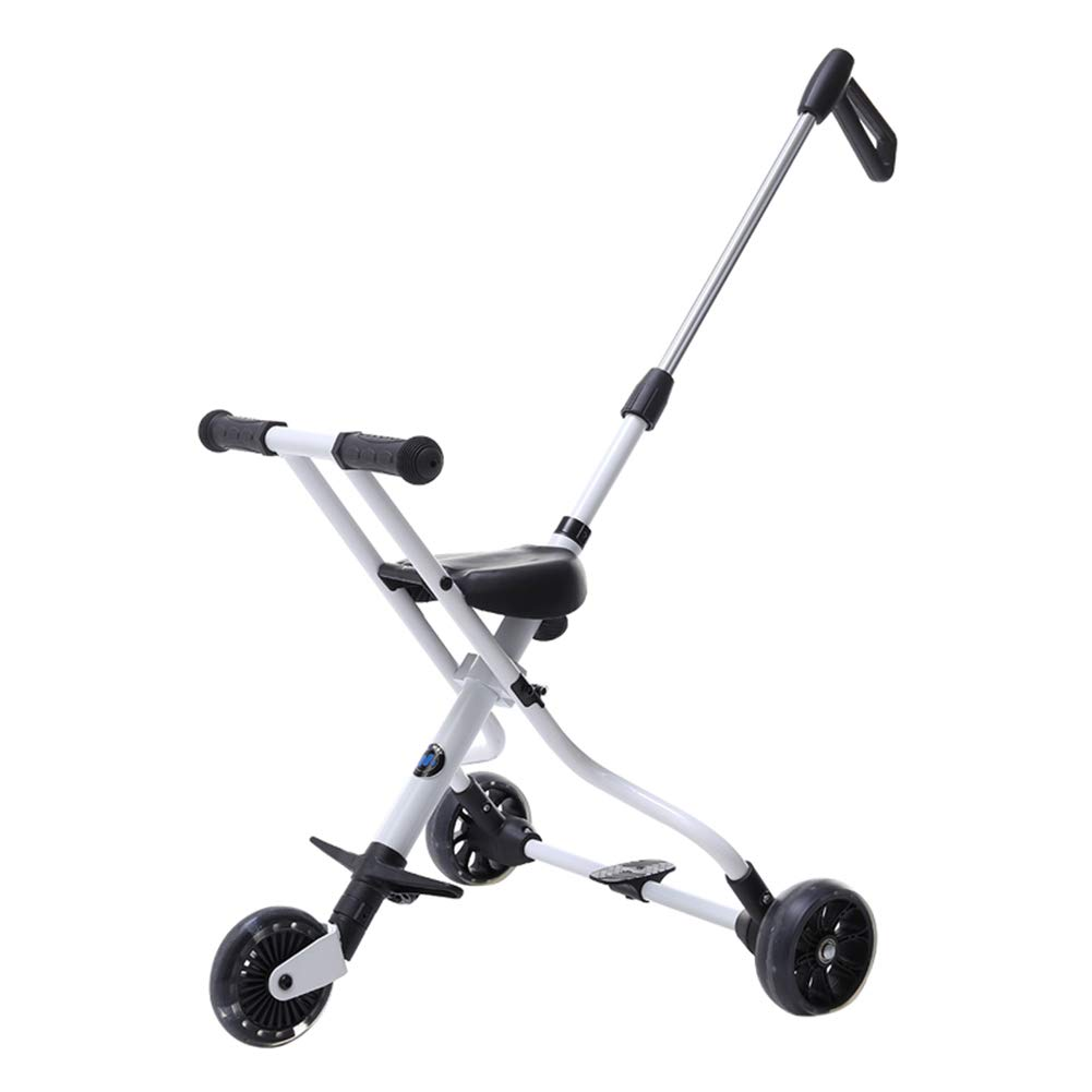 XUE Baby Stroller, Ultra Light 5-Wheel FaltKind mit Sicherheitssystem und Multi-Positions-Light-Seat Extended Canopy Easy One Hand Fold Large Storage Korb