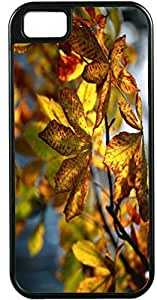 iPhone 5 Case iPhone 5S Case Cases Customized Gifts Cover green Leaves - Ideal Gift