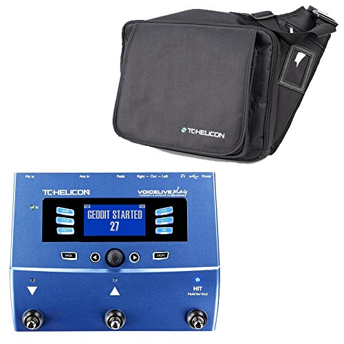 TC VoiceLive Play with TC Helicon Gig Bag 996356005 by TC Electronic