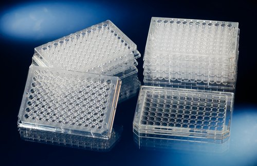 Nunc F96 MicroWell Plate, Non-treated Surface, Non-Sterile with Lid, Clear, 400µl Volume (Case of 160) - Microwell Plate