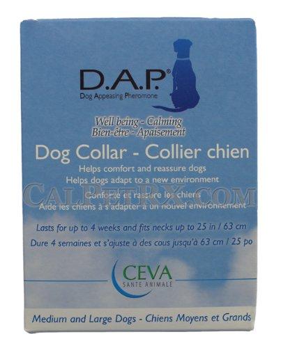 DAP Dog Appeasing Pheromone Collar for Medium and Large Dogs