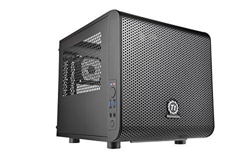 Thermaltake Core V1 Mini ITX Cube Case with Fan
