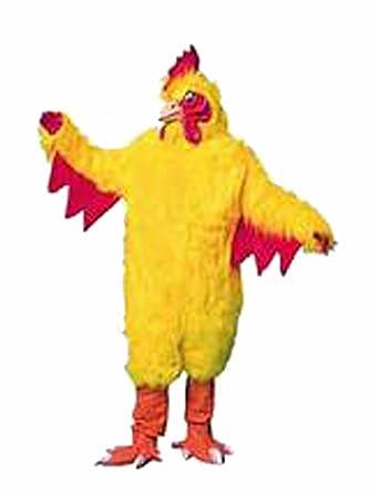 deluxe chicken costume mascot Super adult