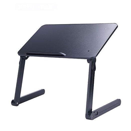 mesa plegable Escritorio portátil Ordenador portátil Mesa Metal ...