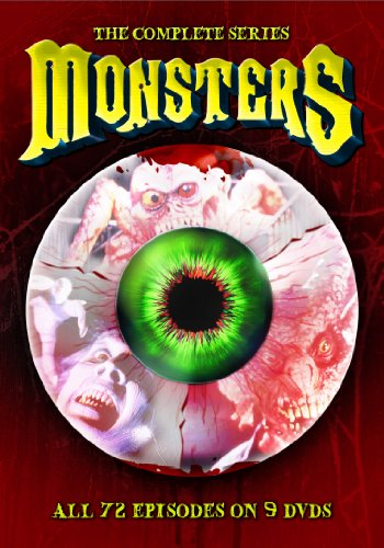 DVD : Monsters: The Complete Series (Boxed Set, Dolby, 9 Disc)