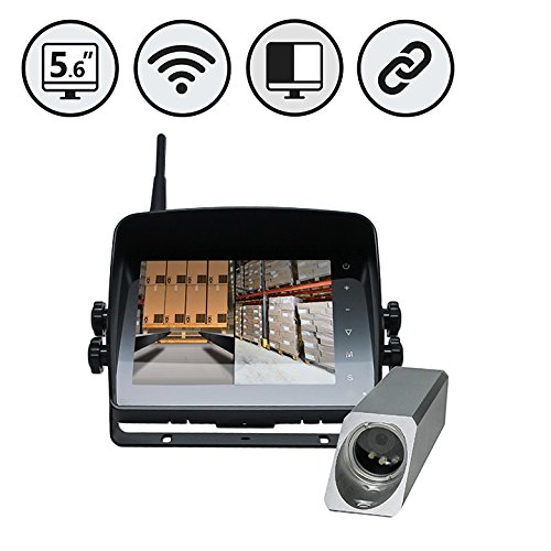 Wireless Safety Camera System for Forklifts by Rear View Safety by Rear View Safety
