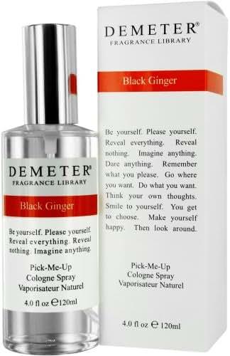 Demeter Cologne Spray for Women, Black Ginger, 4 Ounce