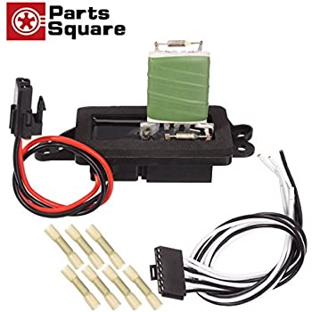 amazon com ac blower motor resistor kit with harness replacespartssquare hvac blower motor resistor \u0026 harness compatible with 2004 2005 2006 2007 buick rainier 02 03 04 05 06 07 08 09 chevy trailblazer gmc envoy 02 03