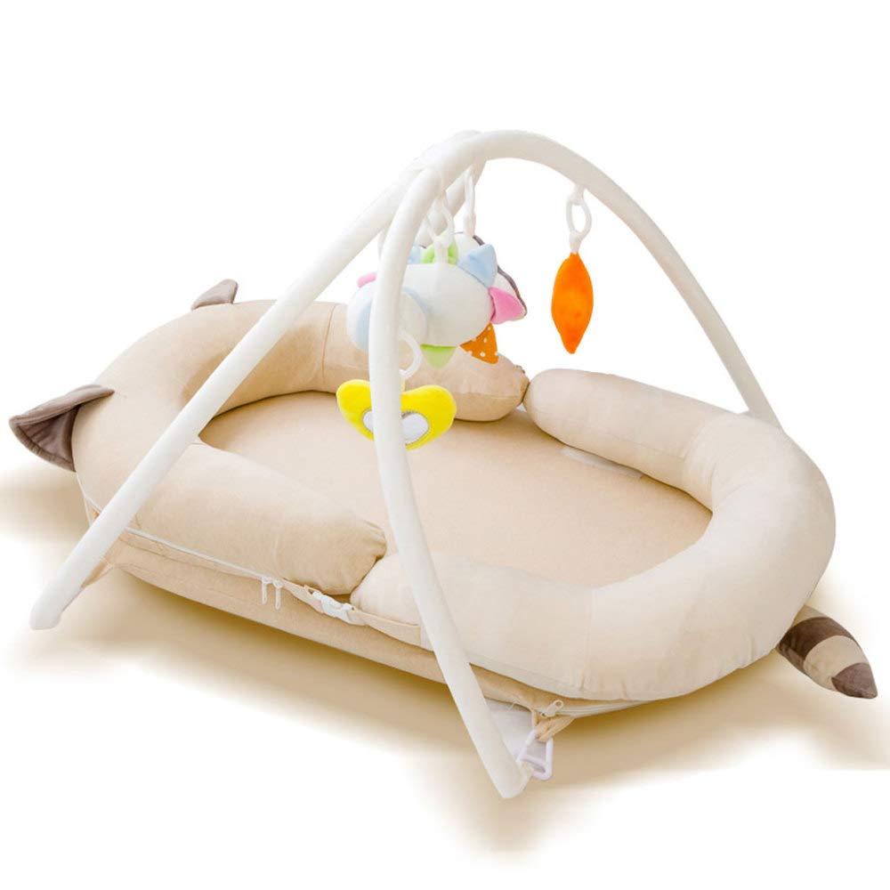 Web oficial amarillo Baby Jugar Mat Bed Educación Temprana 3 3 3 En 1 Multifunción Infant Toddlers Portable Crawling Mat Para Fitness, Juguete, Sonido, Regalo,amarillo  Nuevos productos de artículos novedosos.