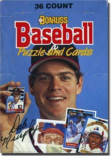 1988 Donruss Wax Box (36 Packs / 15 cards per pack - MLB) (1988 Donruss Mlb Card)